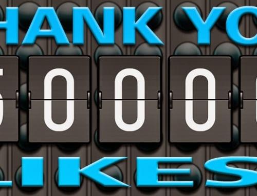 Superati i 50.000 likes